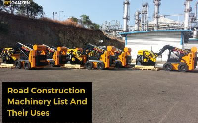 Top 6 Road Construction Machinery List And Their Uses