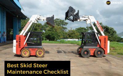 Best Skid Steer Maintenance Checklist