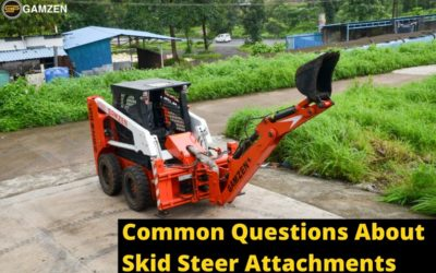 What Are The Common Questions About Skid Steer Attachments?