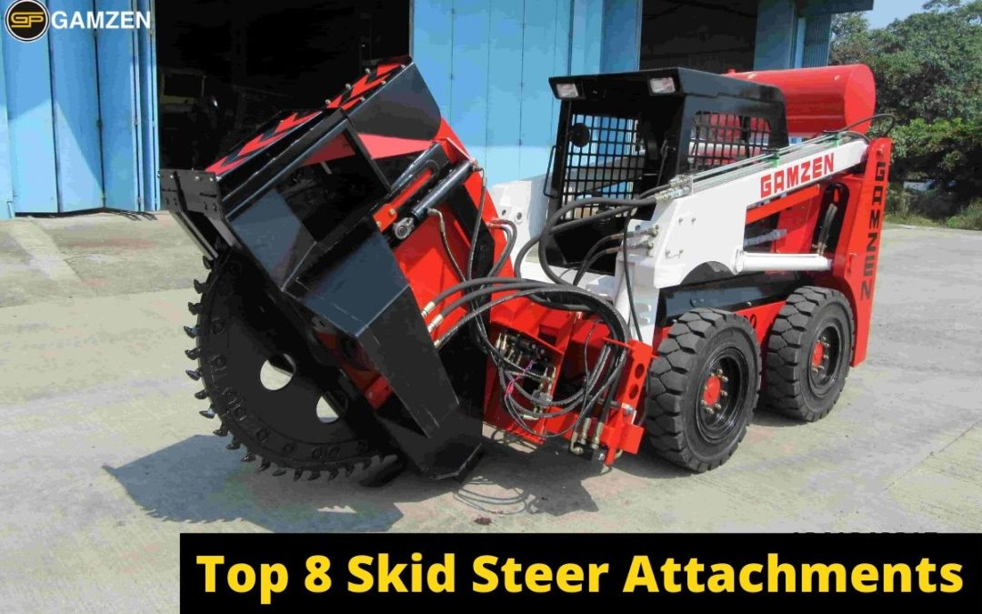 Best Skid Steer Attachments For Construction Work