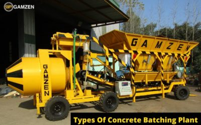 How Does Concrete Batching Plant Works? Types Of Concrete Batching Plant