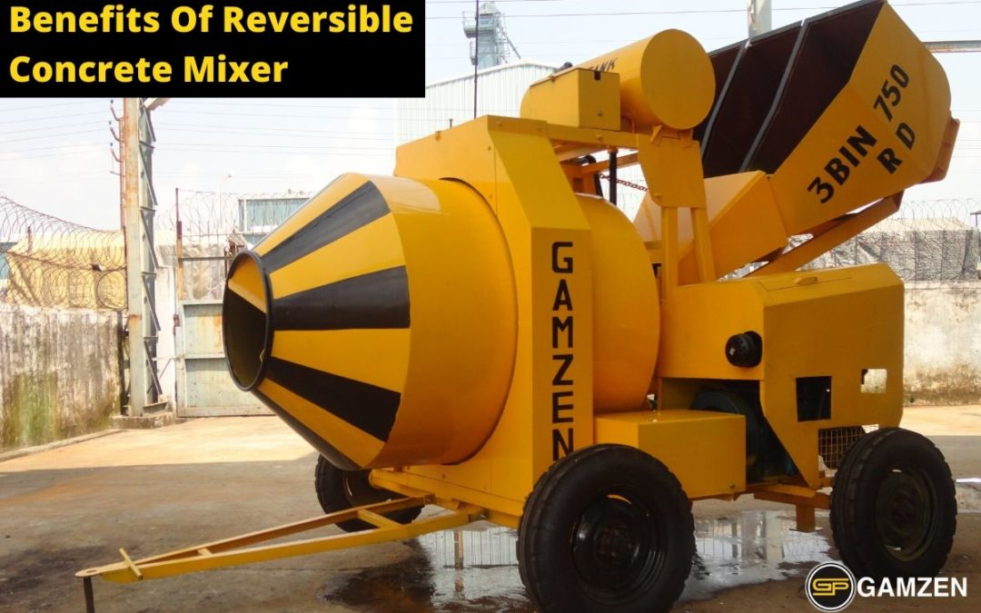 What Are The Benefits Of Reversible Concrete Mixer?