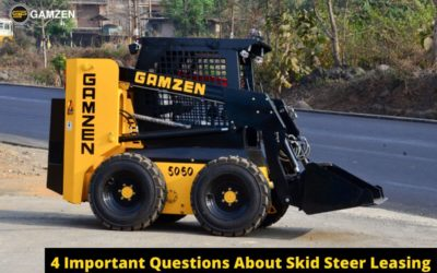 4 Important Questions About Skid Steer Leasing