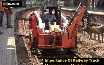 Importance Of Railway Track Maintenance Machine