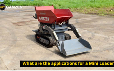 What are The Applications For a Mini Loader?